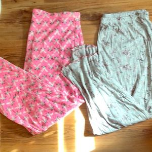 Two pairs of Pajama Pants XXL